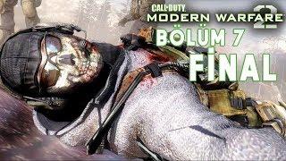 KAHRAMANLAR ASLA ÖLMEZ ! | Call Of Duty Modern Warfare 2 Türkçe Bölüm 7