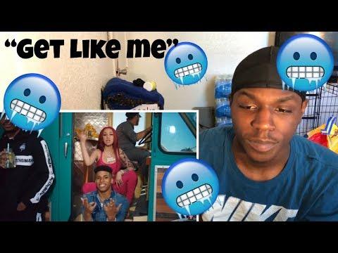 "BHAD BHABIE ""Get Like Me"" feat. NLE Choppa   (Music Video) Danielle Bregoli REACTION"