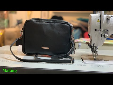 Making a Crossbody Bag / Heavily Modified