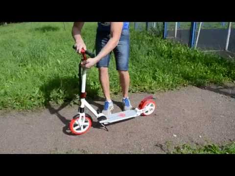 Самокат RZ scooter с большими колесами