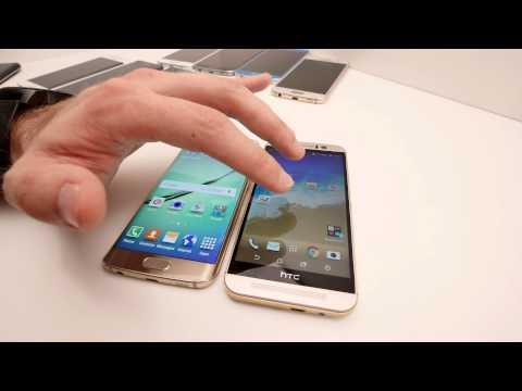 Samsung Galaxy S6 vs HTC One M9 video