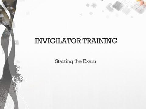 03 - Starting The Exam