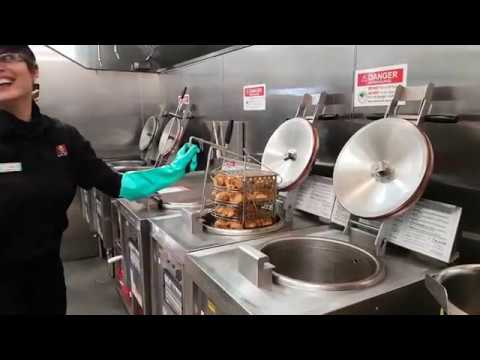 KFC Cooking School in Mississauga 2018