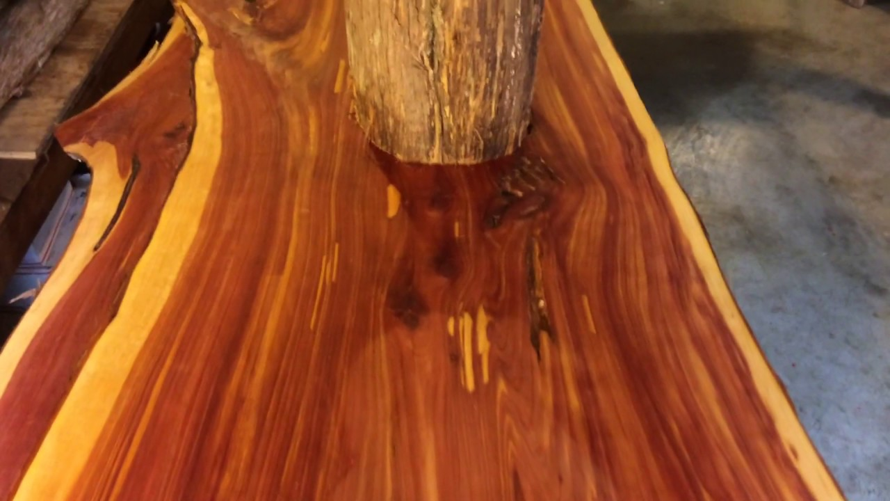 Western red cedar table top western red cedar live edge table top - Live Edge Cedar Slabs For Sale