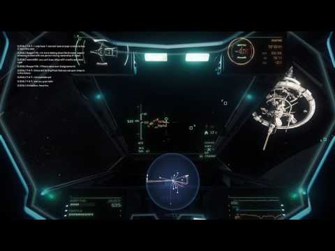 VirtualAce (Aerospace Alliance) members vs Gravewalkers - Epic Battle over Security Post Kareah