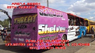 Arena Essex - Rawlins Transport Unlimited Big Van Bangers & Coaches - 29TH August 2016