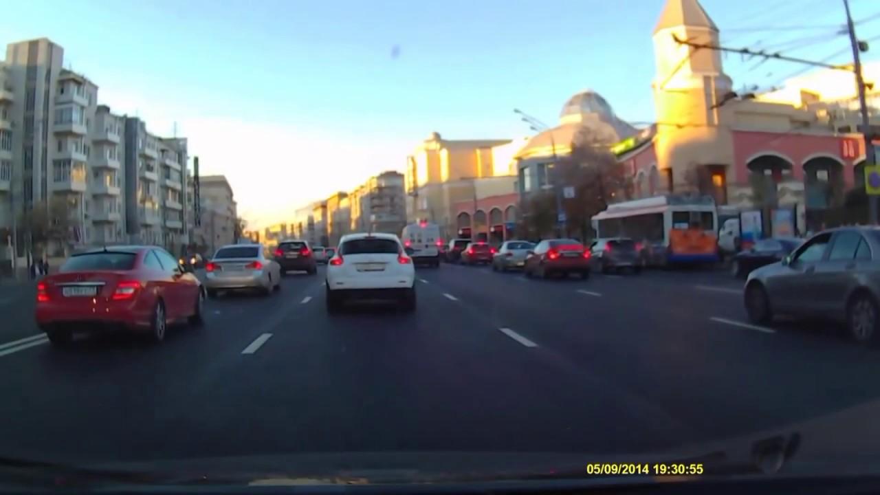 Безопасная дистанция между автомобилями