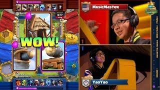 TMD YAO YAO vs MUSIC MASTER | 2017 Crown Championship World Finals