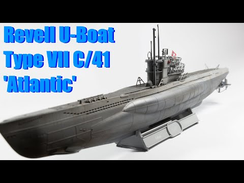 Revell Type VII C/41 Atlantic Version Uboat (1/144 Scale Model)