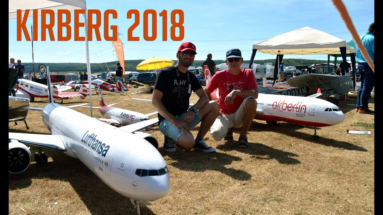 RC model flight event at Kirberg 2018/ Jets, airliners