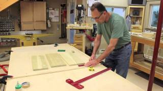 The Down To Earth Woodworker: Mobile Sanding Center Part 8 - Attach Drawer Fronts, Easy!