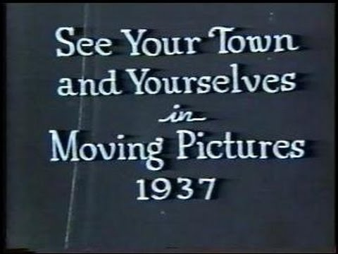 Vintage video of Lemoyne, PA from 1937.