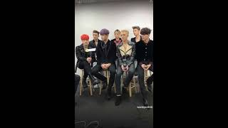 iKON interview at 2016 Melon Music Awards TENCENT. QQ MUSIC ASIA STAR