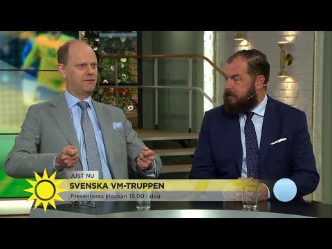 Svenska VM-truppen: Att bli uttagen är kolossalt stort - Nyhetsmorgon (TV4)