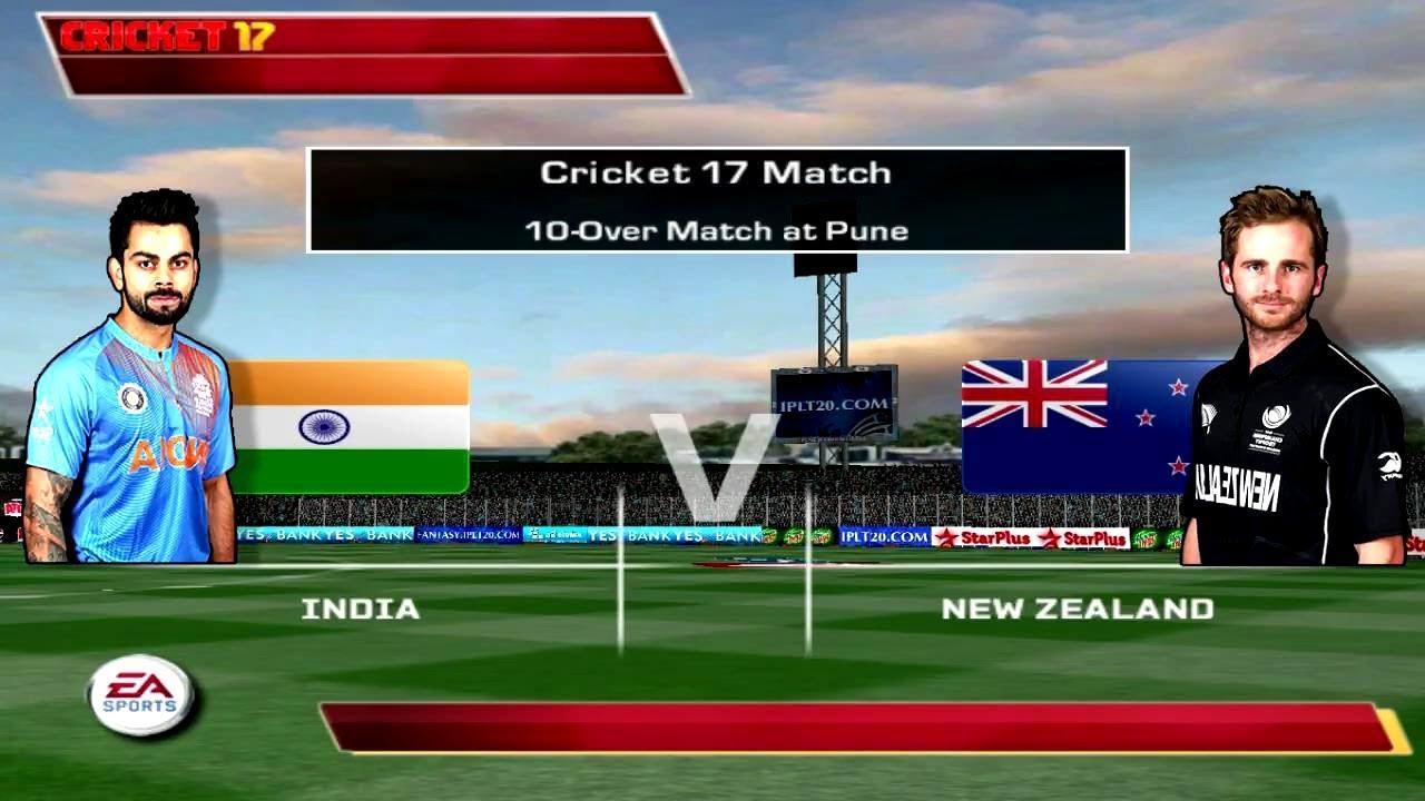 3rd Odi India Vs New Zealand 2017 Ea Sports Cricket 2017
