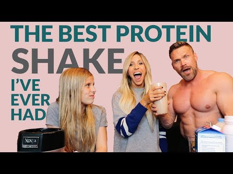 The Best Chocolate Peanut Butter Protein Shake I've Ever Had