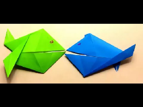 Origami for Beginners: Hungry Fish