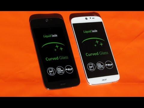 Acer Liquid Jade Plus mit Curved Glass - Hands On Test - Deutsch / German ►► notebooksbilliger.de