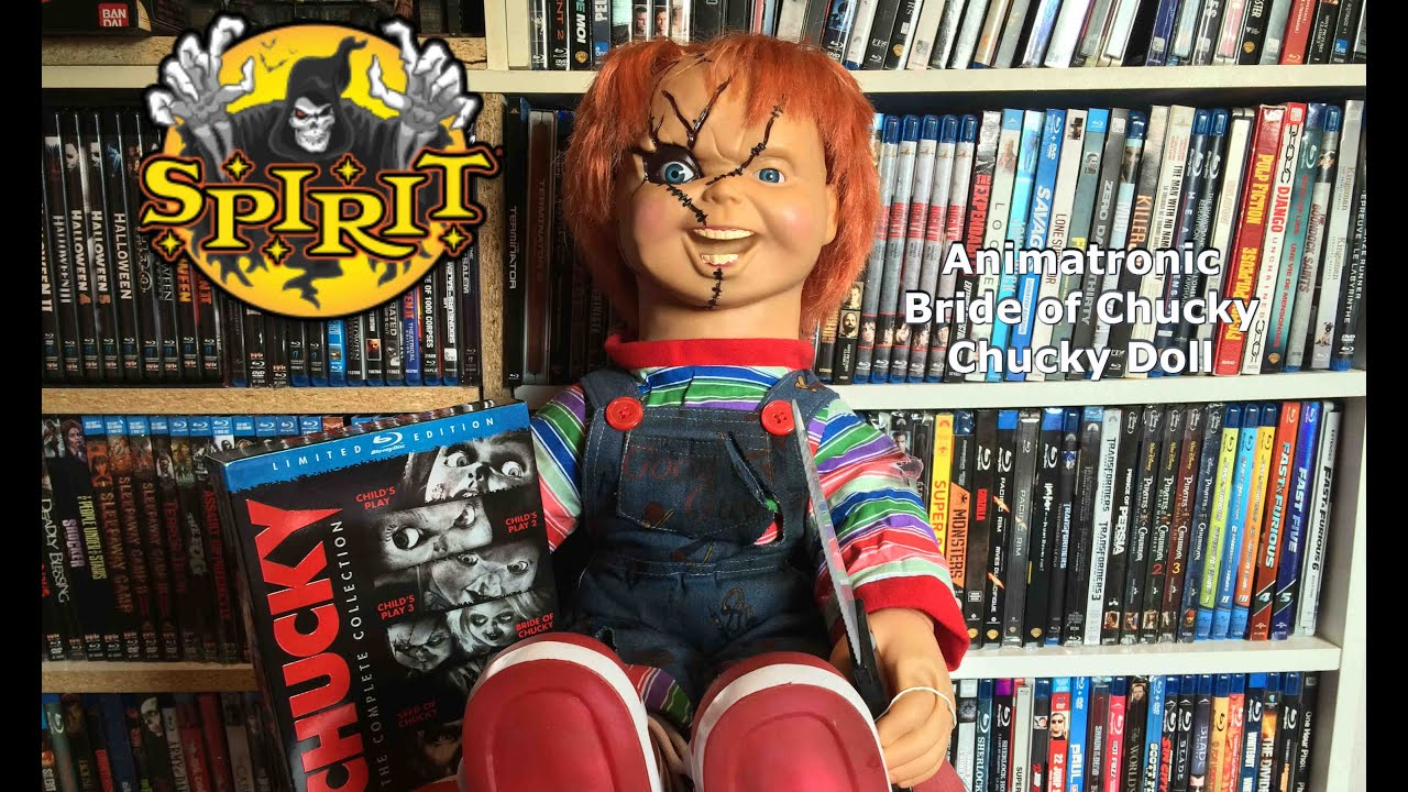 chucky bride of chucky spirit halloween animatronic review - Spirit Halloween Animatronics