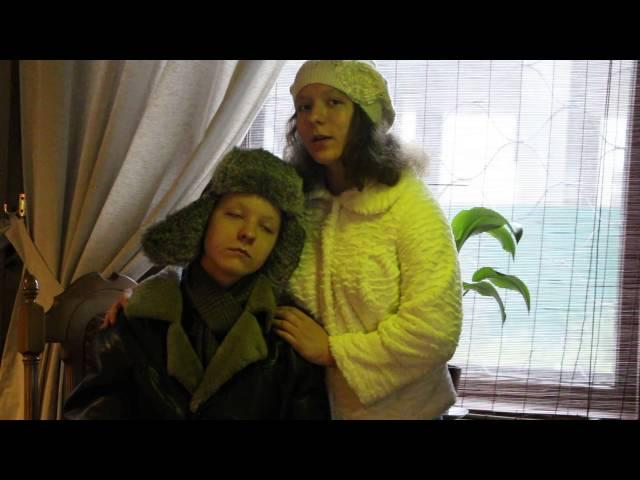 Изображение предпросмотра прочтения – Ангелина, ПолинаРублевы читает произведение «Помню – долгий зимний вечер…» И.А.Бунина