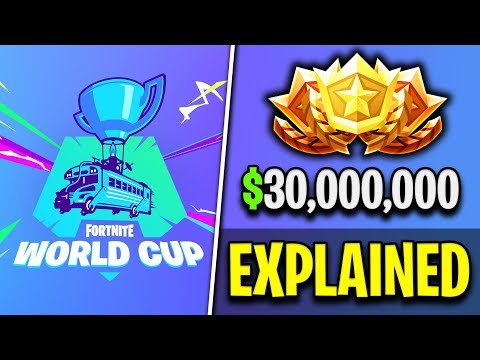 Fortnite World Cup - Everything You Need To Know!