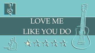 ukulele-tab---love-me-like-you-do