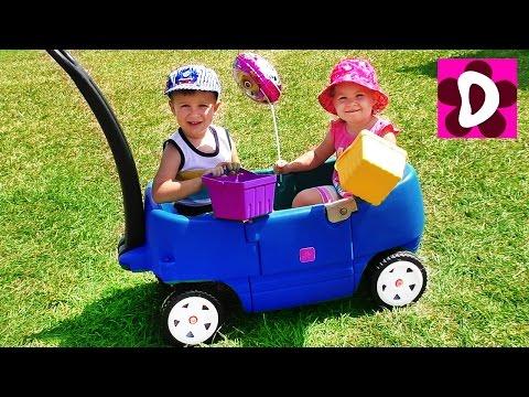 VLOG Едем на Ферму собирать Ягоды для Детей Kids Family Fun Trip to the Farm Children Activities