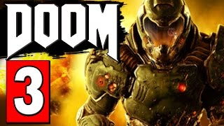 DOOM 4 Full Game Walkthrough Part 3 MISSION - ARGENT TOWER / SCALE THE TOWER