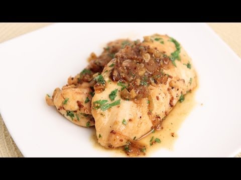 Honey Mustard Sauteed Chicken Recipe - Laura Vitale - Laura In The Kitchen Episode 715