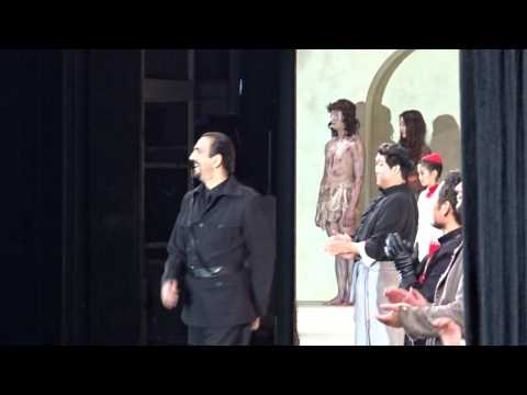 Curtain Fall, Tosca (Puccini) DEBUT