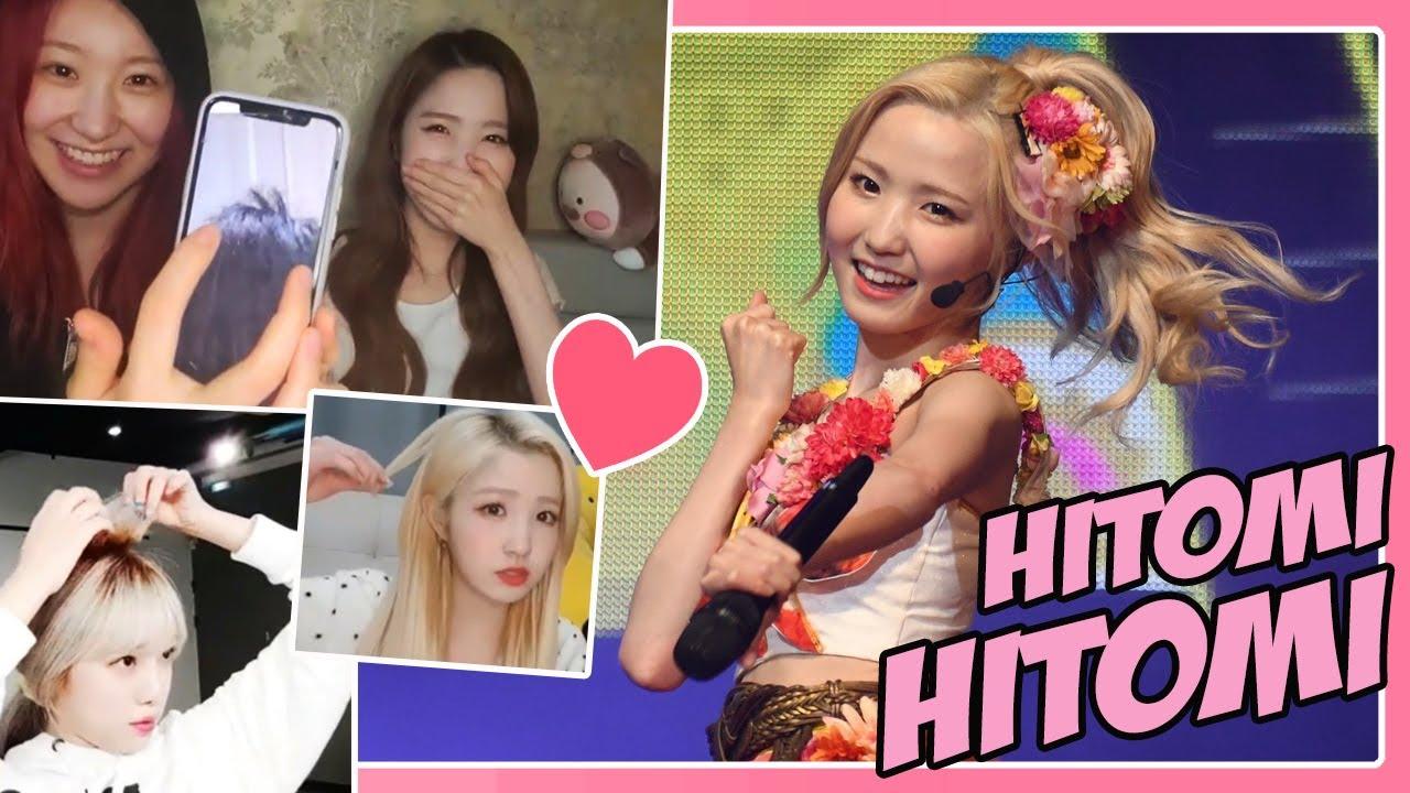 (EN SUB) IZONE - Hitomi's 🍑 Hitomi 🍑 Is Growing Story #아이즈원  #アイズワン,
