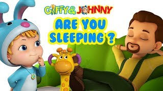 Are You Sleeping? Daddy Dear | Kids Rhymes | Infobells