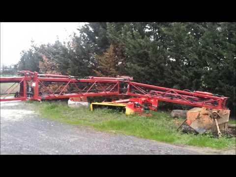 Apertura Barre Hardi Ranger 2500 VPZ Pro 21 metri