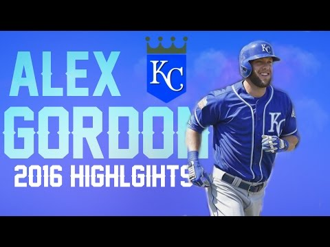 Alex Gordon | Royals Highlights 2016