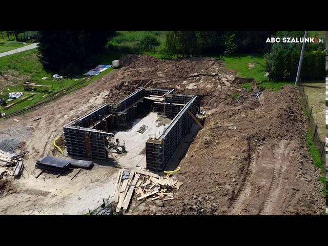 Budowa domu jednorodzinnego w Wieliczce   ABC Szalunki #szalunki #budowa #rasto #budowadomu