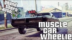 Muscle car customization  GTA 5 [PS4]