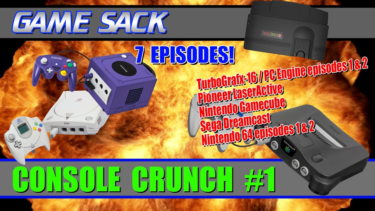 Game Sack Console Crunch #1