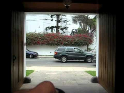 Brazos hidraulicos para puerta de garage batiente youtube - Puertas para garage ...