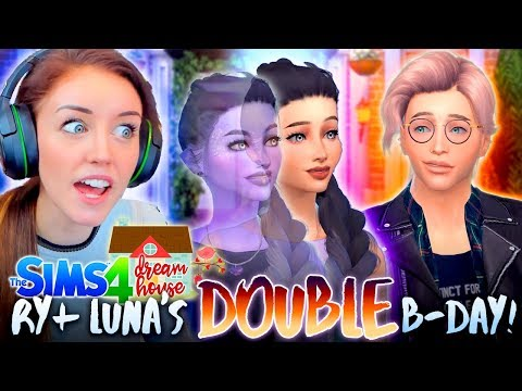 LUNA and RYDER GROW UP! 👫 (The Sims 4 #71!🏡)
