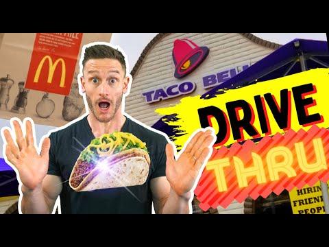 Top 4 Keto Fast Food Drive Thru Options (Taco Bell, McDonalds)
