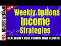 Weekly Options Income Strategies for Stocks by Day Trading Zones | Real Traders Webinar