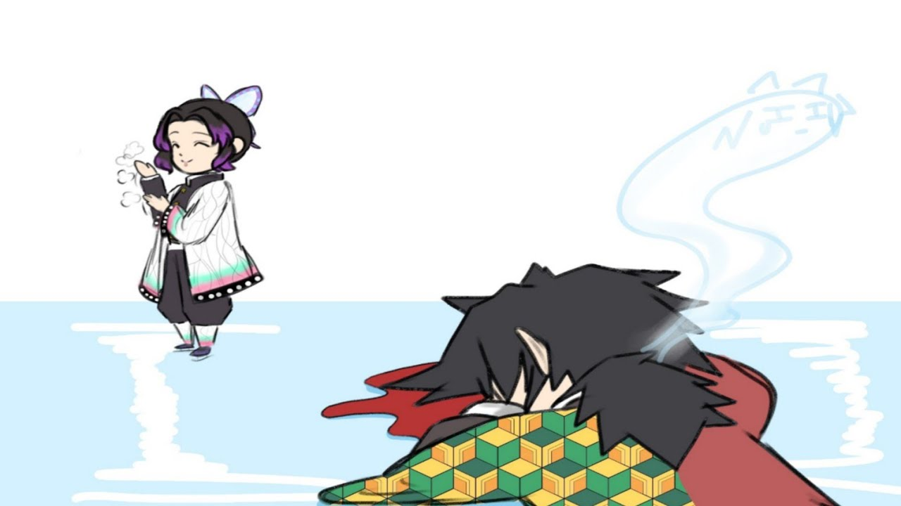 "Tomioka y Shinobu ""Patinaje Sobre Hielo"" | Comic Dub"