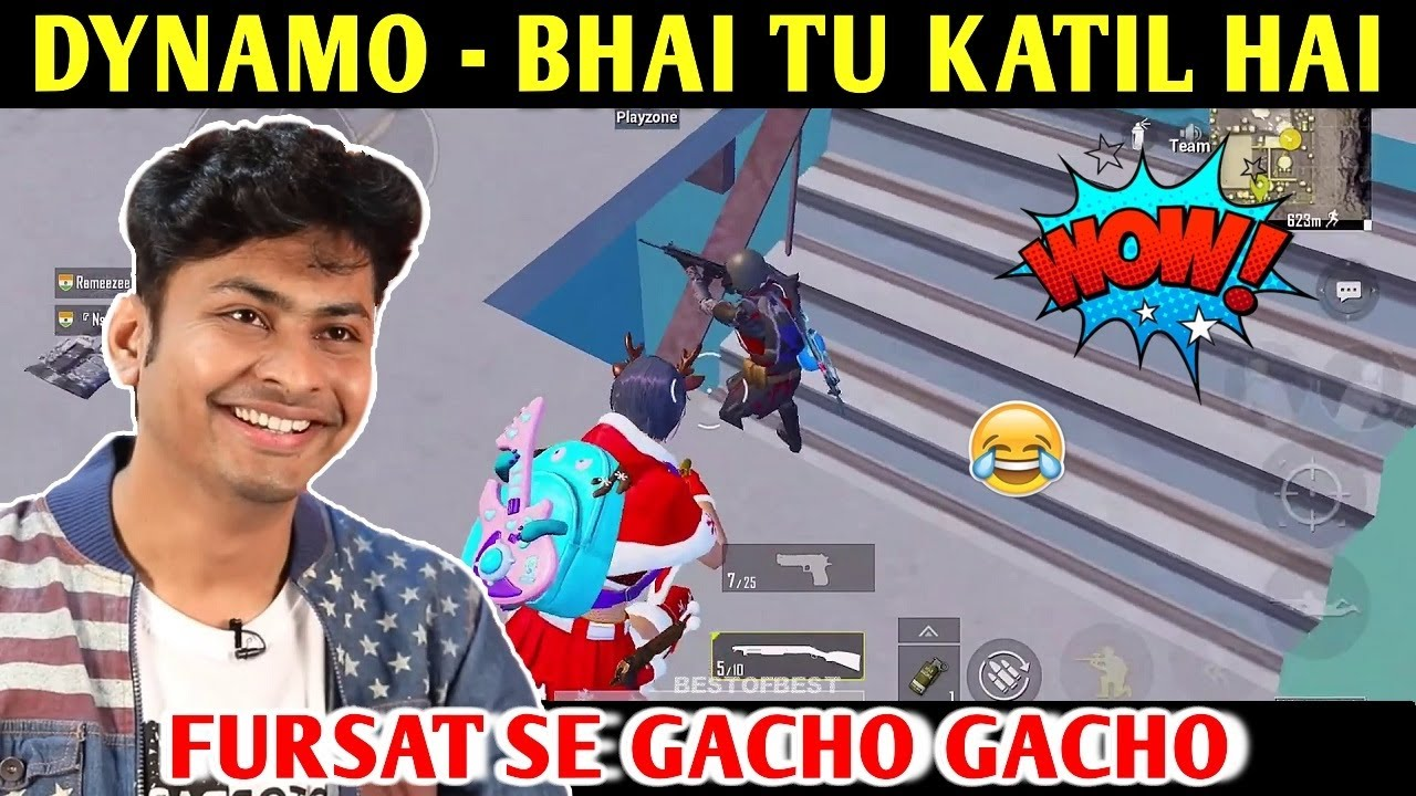 DYNAMO - BHAI TU KATIL HAI | PUBG MOBILE | BEST OF BEST
