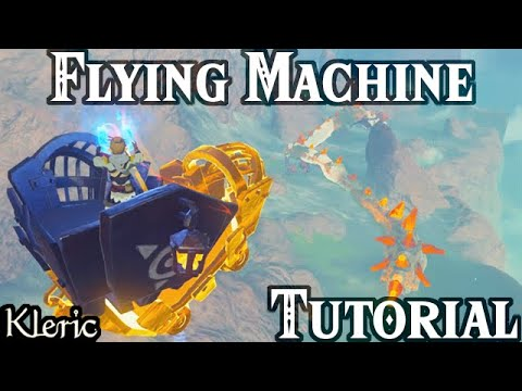 Breath of the Wild: In-depth Flying Machine Tutorial