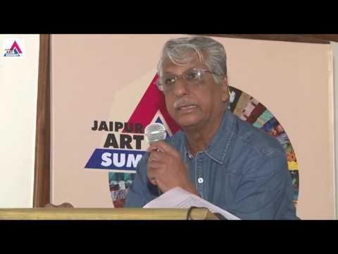 Prof. Deepak Kannal in Jaipur Art Summit