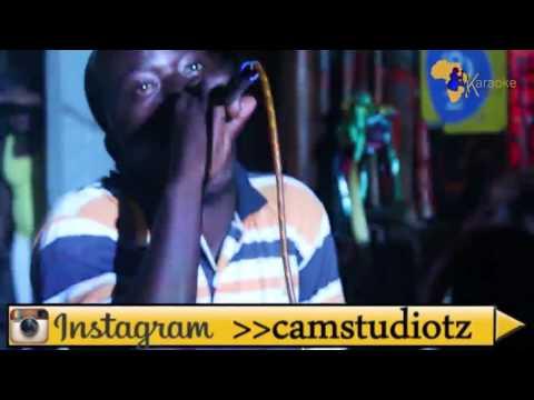 Steve Azam akiimba Onana @ CAM STUDIO & Kwetu Pazuri Kareoke
