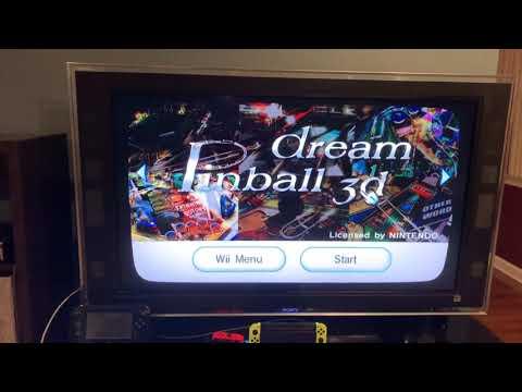 Random Wii Games Part 1. Dream Pinball 3D/SqueeBalls Party |
