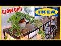 IKEA HACK!! DIY Rustic Industrial Sideboard from VITTSJÖ
