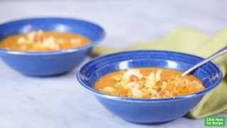 Recipe: Lightened-up Lobster Bisque