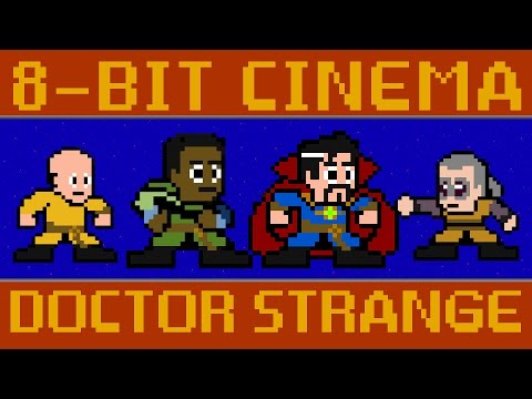 Doctor Strange - 8 Bit Cinema